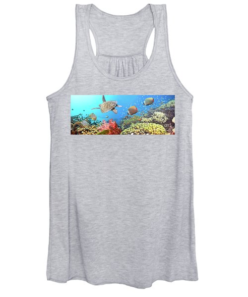 Underwater Panorama Women's Tank Top