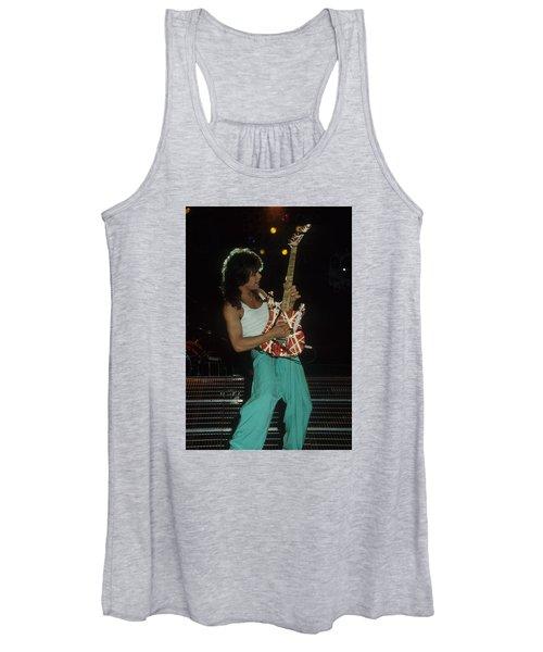 Eddie Van Halen Women's Tank Top