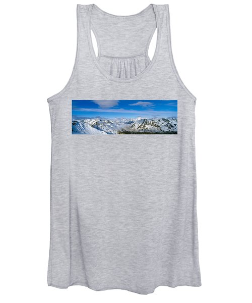 Mountains And Glaciers In Wrangell-st Women's Tank Top
