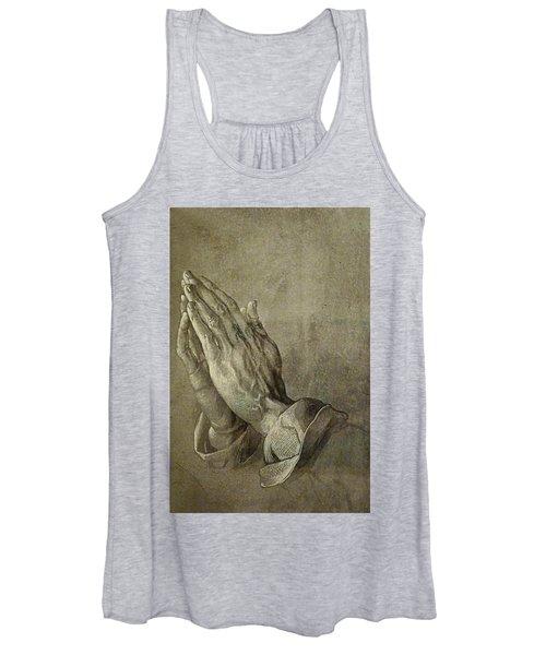 Praying Hands Women's Tank Top