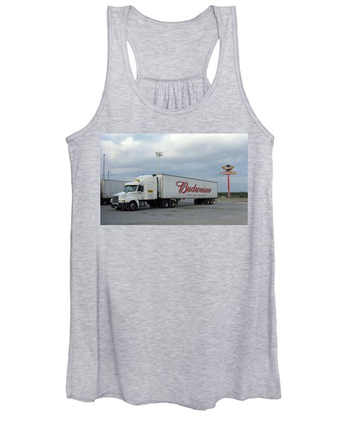 Route 66 - Dixie Truckers Home Women's Tank Top