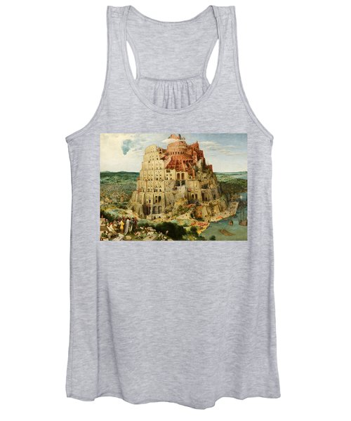 The Tower Of Babel  Women's Tank Top