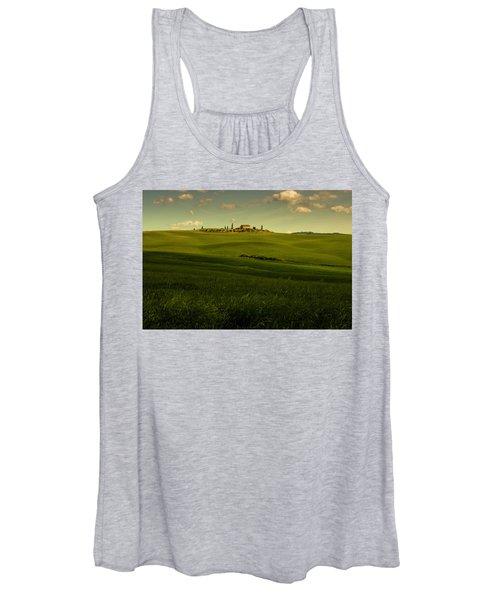 Val D'orcia Landscape Women's Tank Top