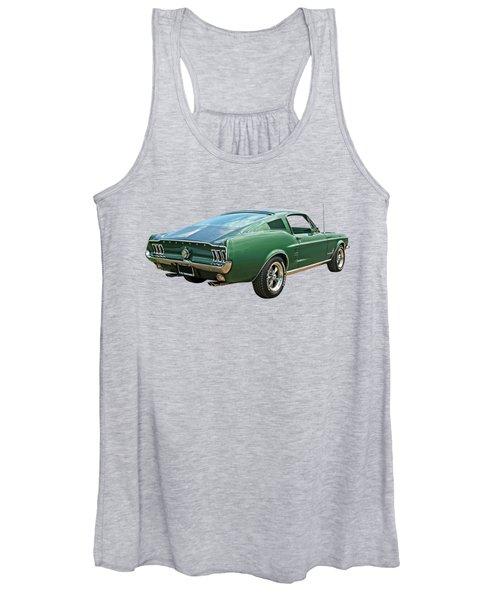 67 Mustang Fastback Women's Tank Top