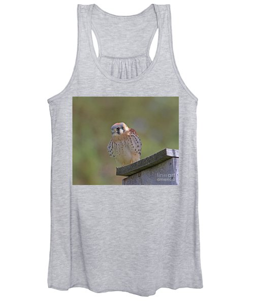 American Kestrel Women's Tank Top
