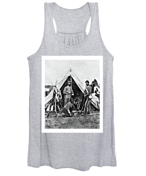 Women's Tank Top featuring the photograph 7th New York 1 by John Feiser