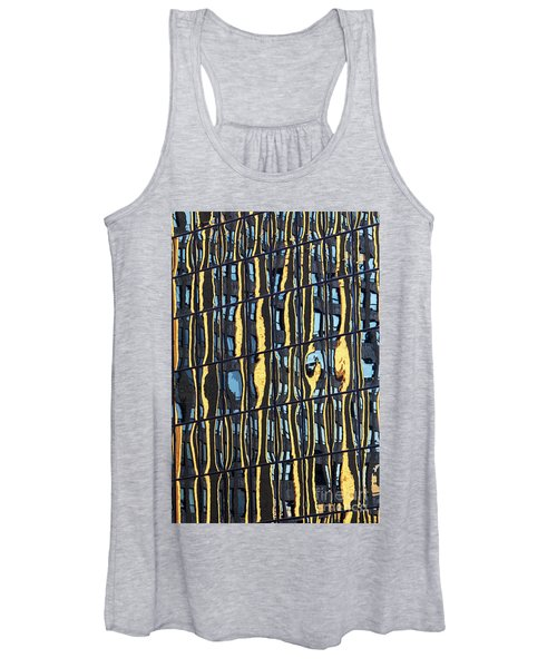 Abstract Reflection Women's Tank Top