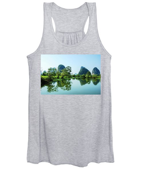 Karst Rural Scenery Women's Tank Top