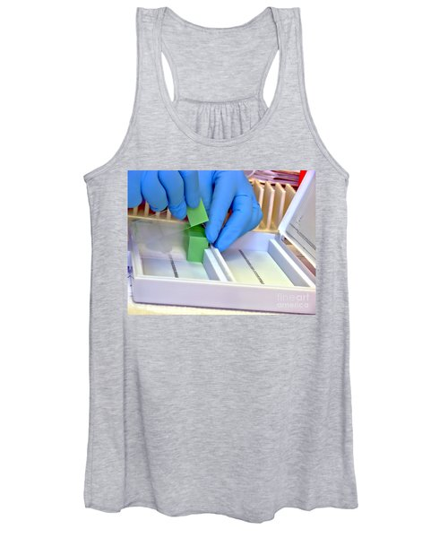 Laboratory Equipment In Science Research Lab Women's Tank Top