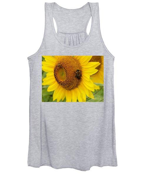 #933 D966 Honey Do Checklist Colby Farm Sunflowers Women's Tank Top