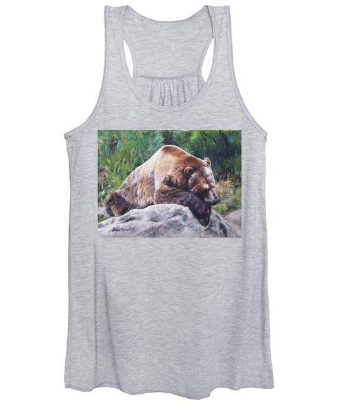 A Bear Of A Prayer Women's Tank Top
