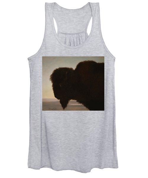 A Bull Buffalo Women's Tank Top