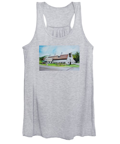 A Farmstand  In The Berkshires Women's Tank Top