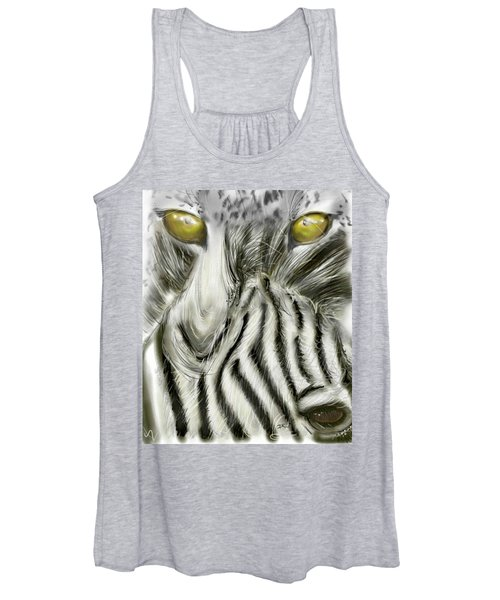 A Friend For Lunch Two Women's Tank Top
