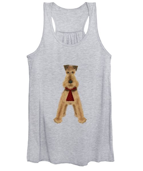 A Is  For Airedale Women's Tank Top