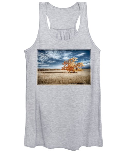 A Lone Tree Women's Tank Top