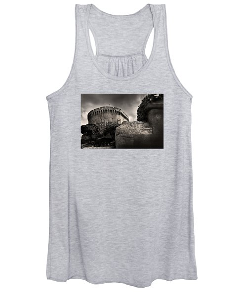 A Peak At The Tower Pictorial Women's Tank Top