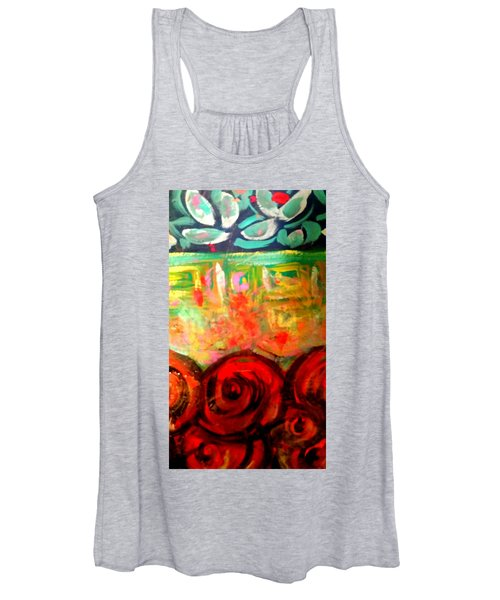 A Rose Is A Rose Women's Tank Top
