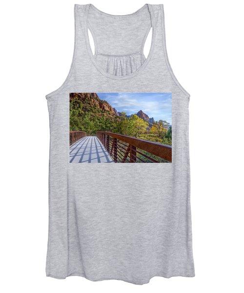 A Scenic Hike Women's Tank Top