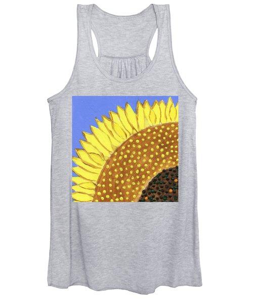 A Slice Of Sunflower Women's Tank Top