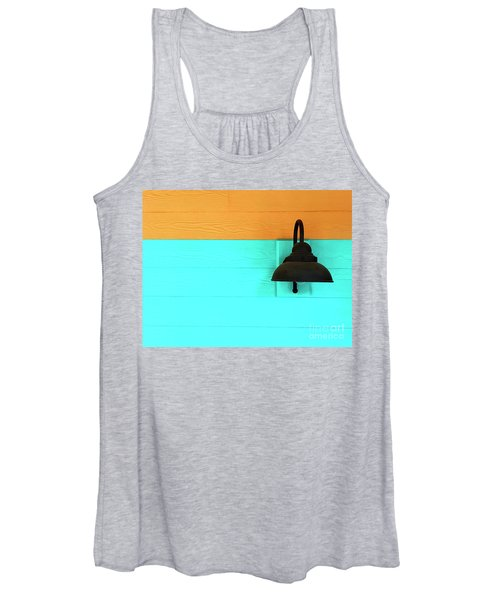Women's Tank Top featuring the photograph A Solitary Light by Rick Locke
