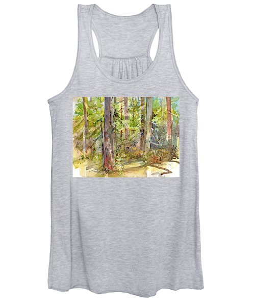 A Stand Of Trees Women's Tank Top