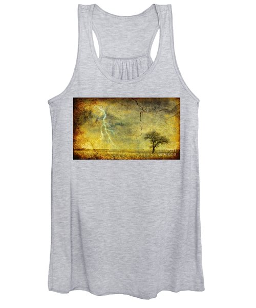 A Stormy Spring Women's Tank Top