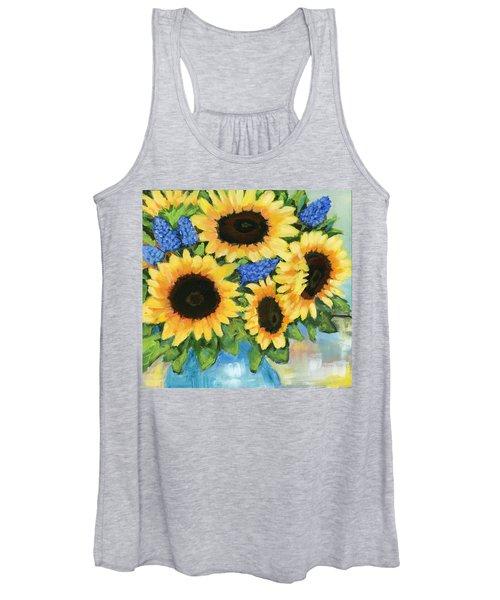A Sunny Arrangement Women's Tank Top