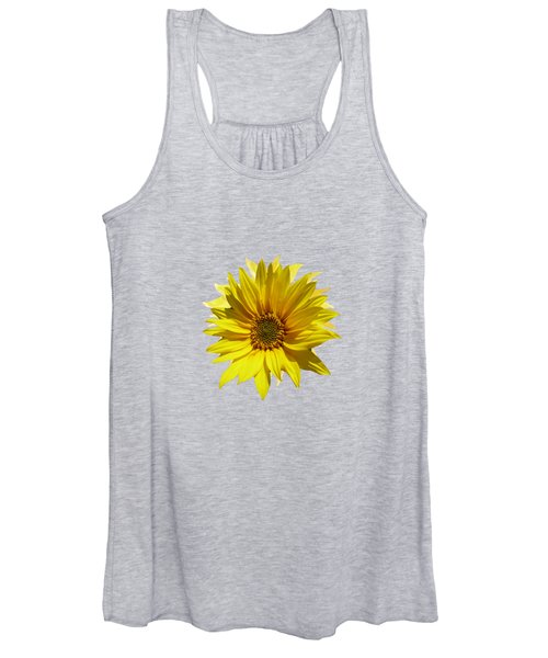 A Vase Of Sunflowers Women's Tank Top