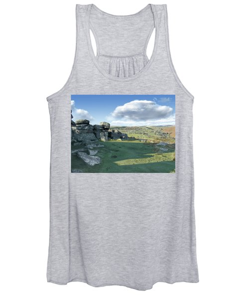 A View From Combestone Tor Women's Tank Top