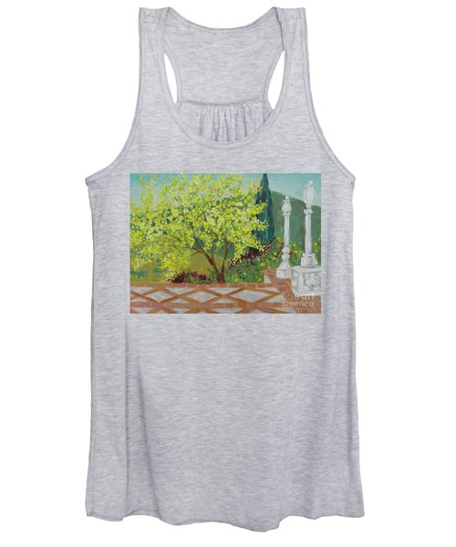 A View From Hearst Castle Women's Tank Top
