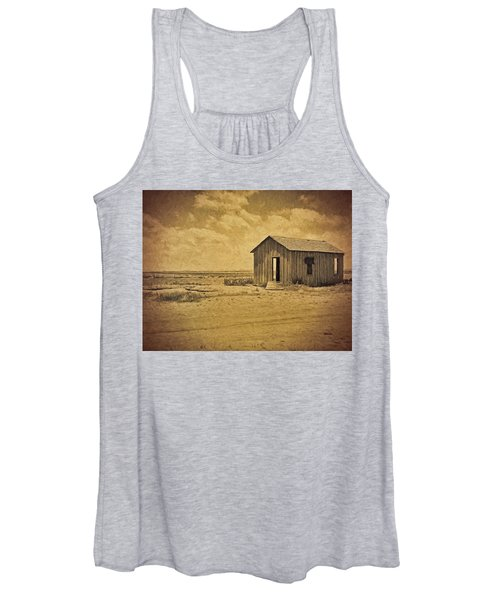 Abandoned Dust Bowl Home Women's Tank Top