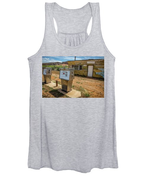 Abandoned Gas Station Women's Tank Top