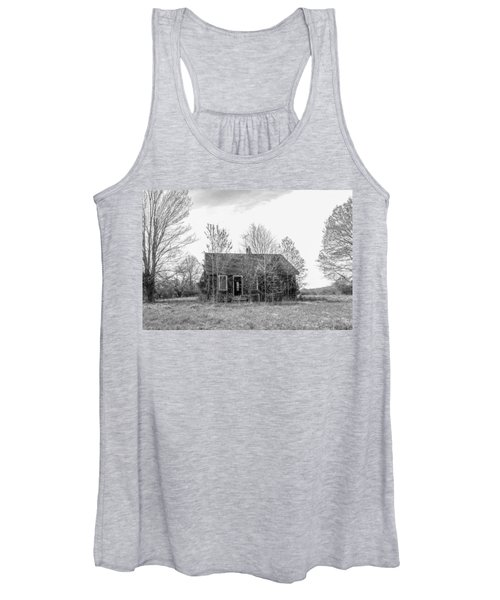 Abandoned House Queenstown, Md  Women's Tank Top