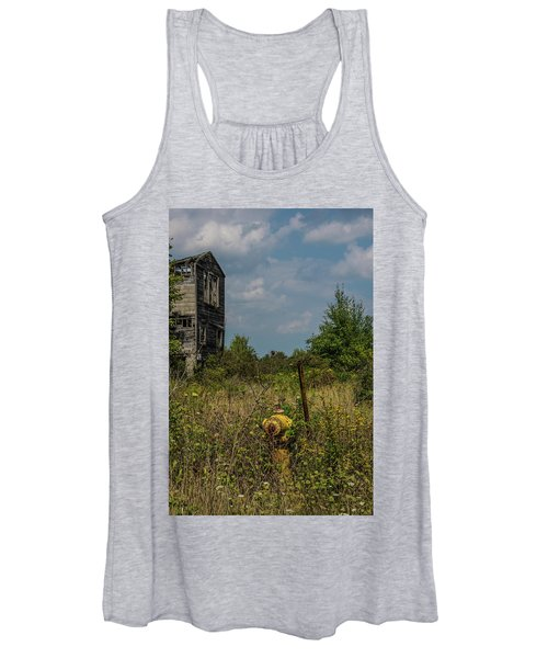 Abandoned Hydrant Women's Tank Top