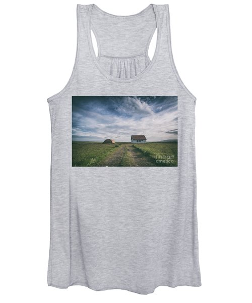 Abandoned Iceland  Women's Tank Top