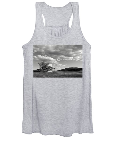 Abandoned In Wyoming Women's Tank Top