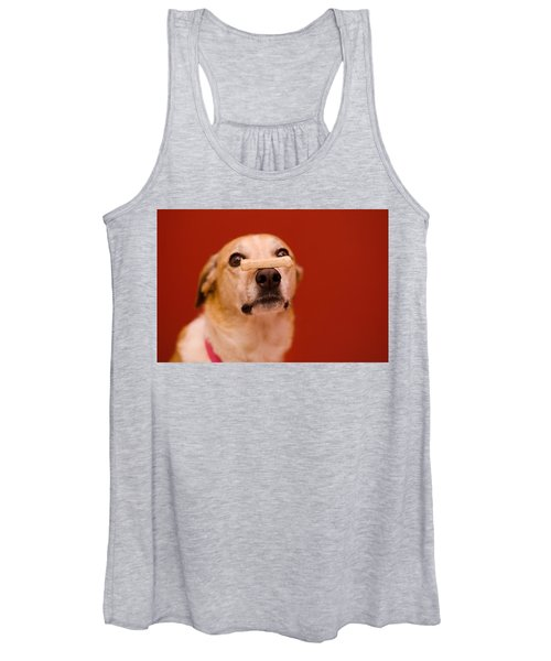 Abbie And A Milky Bone Women's Tank Top