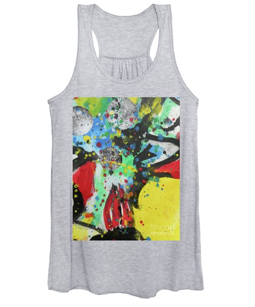 Abstract-1 Women's Tank Top