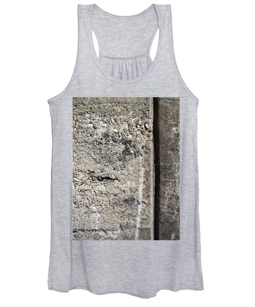 Abstract Concrete 16 Women's Tank Top