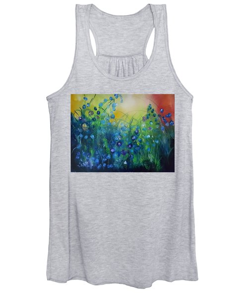 Abstract Flax           31 Women's Tank Top