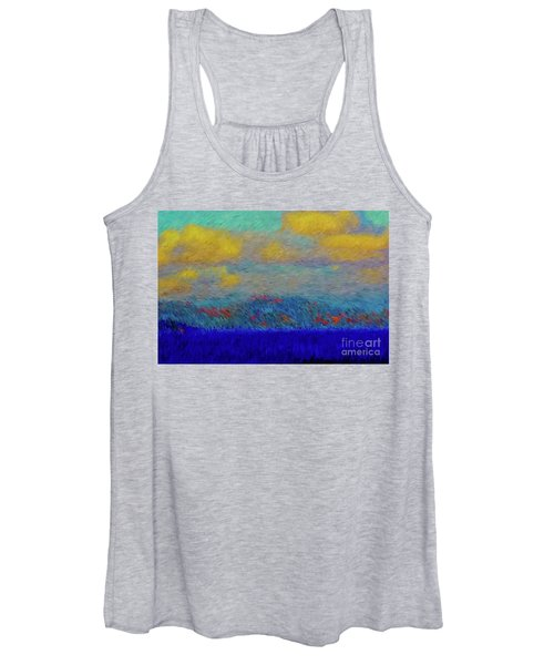 Abstract Landscape Expressions Women's Tank Top