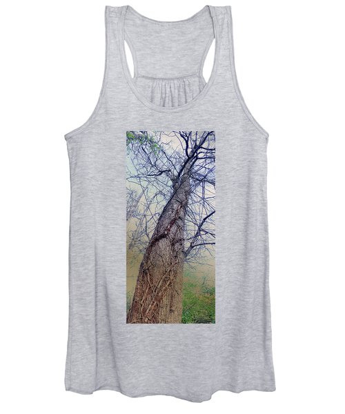 Abstract Tree Trunk Women's Tank Top