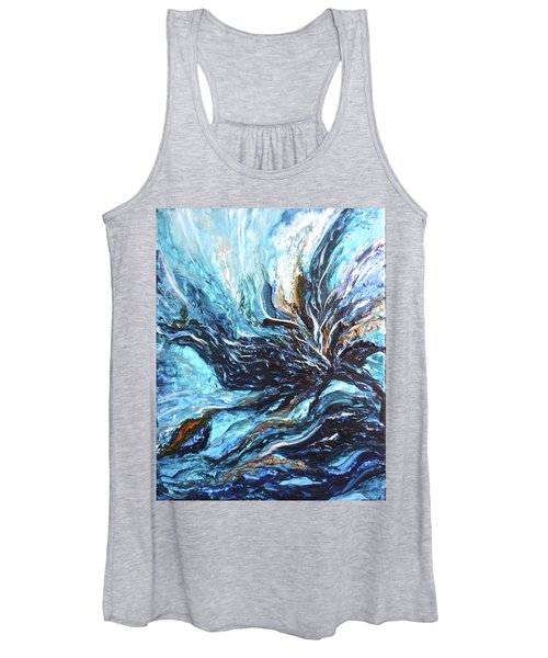 Abstract Water Dragon Women's Tank Top