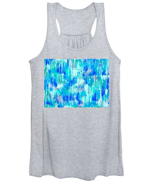 Abstract Winter Women's Tank Top