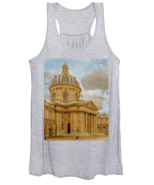 Paris, France - Academie Francaise Women's Tank Top