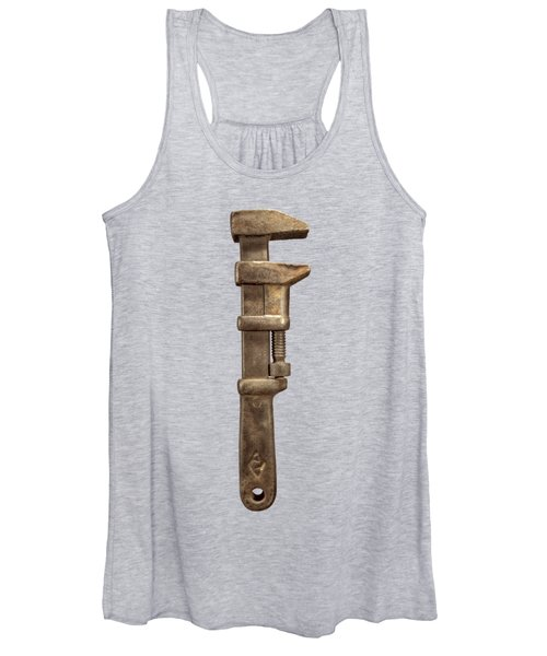 Adjustable Iron Wrench Right Face Women's Tank Top