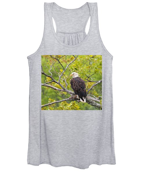 Adult Bald Eagle Women's Tank Top