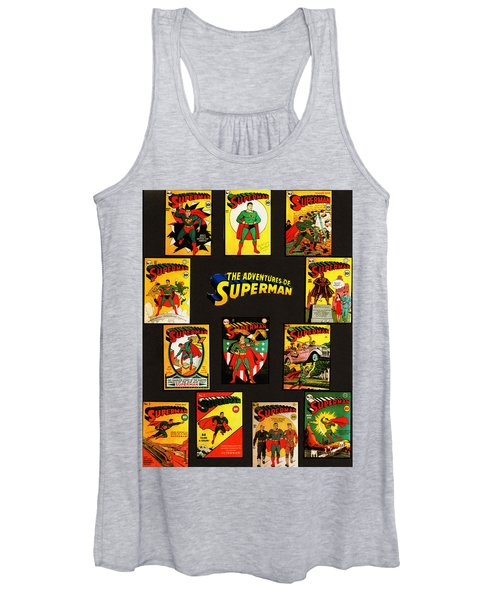 Adventures Of Superman Women's Tank Top