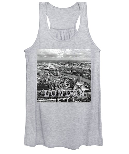 Aerial View Of London Women's Tank Top